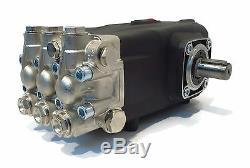 Pompe Pulvérisateur Remplace Interpump Ws101 4000 Psi, 3,96 Gpm Solide Arbre