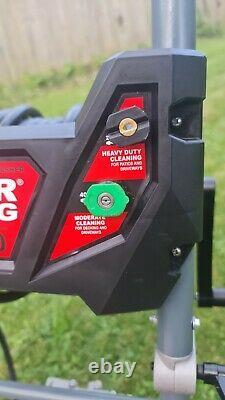 Powerking Nettoyeur À Pression D'essence 3843psi 300 7hp Wolf Power Jet Cleaner