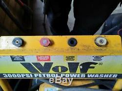 Pression D'essence Laveuse 3000psi 200bar 6.5hp Essence Driven Jet Power Washer
