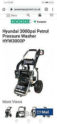Pression D'essence Laveuse 3000psi 8.75l / Min Jet Cleaner Laveuse Hyundai Haute Puissance