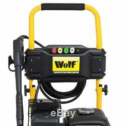 Pression D'essence Laveuse 3200psi 220bar 7hp Essence Driven Jet Power Washer Loup