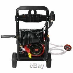 Pression D'essence Laveuse De 3950psi Impressionnant De Puissance T-max Pro 28 Mètres De Tuyau