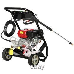 Pression D'essence Laveuse Jet Cleaner 8hp Powered Moteur À Essence 2500psi 3950psi