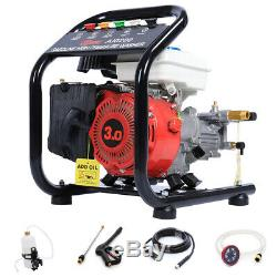 Pression Essence Laveuse 3hp Powered 1400psi Jardin Voiture Nettoyage Patio Cleaner Jet