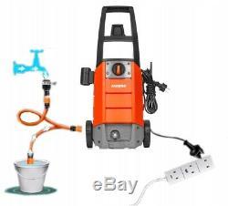 Pression Kanwod Électrique Laveuse 2600psi / 180 Bar Power Jet Cleaner Patio