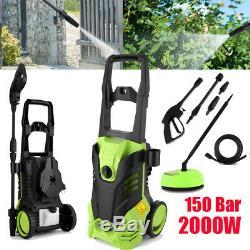 Presso Laveuse Power Jet Électrique Jardin Voiture Patio Cleaner 3000 Psi 2000w