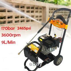 Pro Heavy Duty 170 Bar 2465psi Essence Driven Pressure Power Lacher Laveuse 7.5hp Royaume-uni