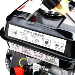 Protection D'huile De Nettoyeur À Haute Pression De Jet De Jet De Puissance D'essence 3000psi 8hp Commercial Propre