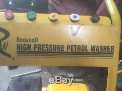 Rocwood 3000 Psi 7hp 10 Lpm Essence Haute Puissance Pression Jet Laveuse
