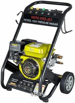 Roue De Tuyau De Pistolet De Moteur Nero Pro - Laveuse À Jet De Pression De Puissance D'essence - 2600psi 6.5hp
