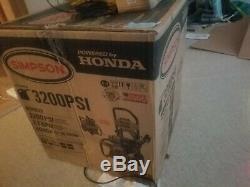 Simpson Powershot 3200 Psi À 2,5 Gpm Laveuse À Pression Gaz Ms60920 Honda Propulsé