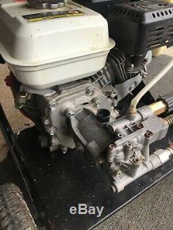 Swiss Kraft 2500 Psi Petrol Pression D'alimentation Lave 5.5hp 4 Stroke Moteur Honda