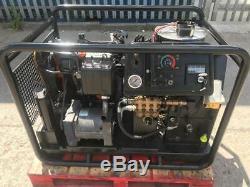 Vapeur Chaud Ou Froid Diesel Laveuse Mobile 3000 Psi Pression 21l Garantie 30 Jours Rtb