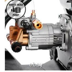 Vehpro Petrol Power Pressure Jet Laveuse Nettoyeur 3000psi 7hp Moteur Avec Tuyau D'arme À Feu