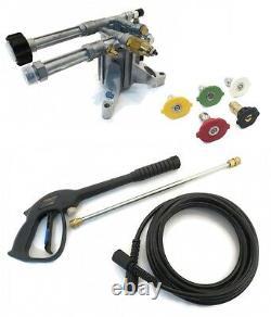 Vertical Ar Power Washer Pump & Spray Kit 2400psi 2.2gpm Ar-rmw22g24-ez