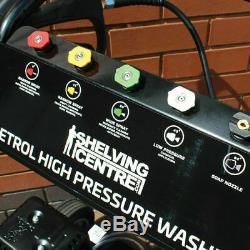 Wido Nettoyeur Haute Pression Moteur Haute Pression Alimenté Par Essence Mobile