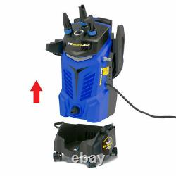 Wolf Electric Pressure Washer 2400psi Water Power Jet Sprayer Blue High Power