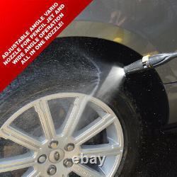 Wolf Electric Pressure Washer 2400psi Water Power Jet Sprayer Lance Télescopique