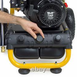 Wolf Petrol Pressure Washer 3500psi 240bar 7hp Petrol Driven Jet Power Washer